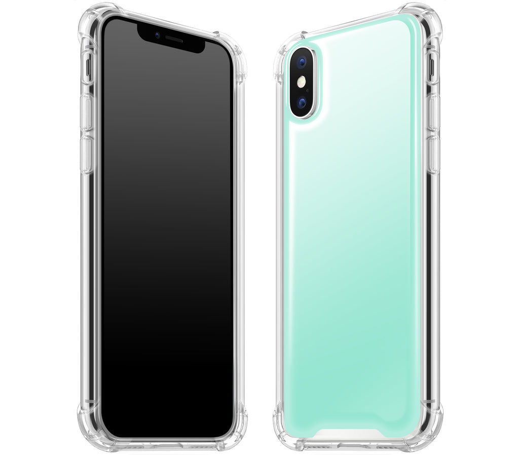 Mint <br>iPhone X - Glow Gel case