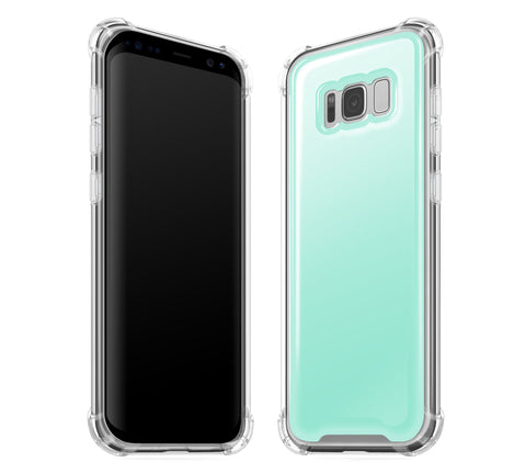 Mint <br>Samsung S8 - Glow Gel case
