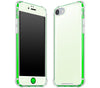 Atomic Ice / Neon Green <br>iPhone 7/8 - Glow Gel case combo