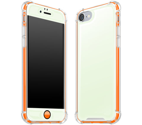 Atomic Ice / Neon Orange <br>iPhone 7/8 - Glow Gel case combo