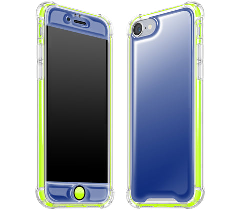 Navy Blue / Neon Yellow <br>iPhone 7/8 - Glow Gel case combo