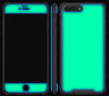 Atomic Ice / Neon Green <br>iPhone 7/8 PLUS - Glow Gel case combo