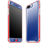 Navy Blue / Neon Red <br>iPhone 7/8 PLUS - Glow Gel case combo