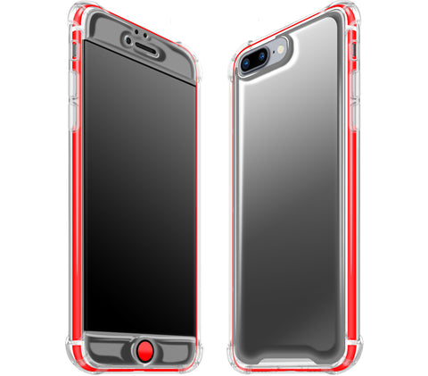 Graphite / Neon Red <br>iPhone 7/8 PLUS - Glow Gel case combo