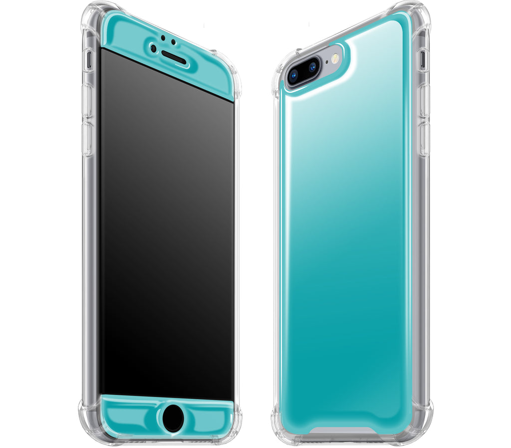 Teal <br>iPhone 7/8 PLUS - Glow Gel case