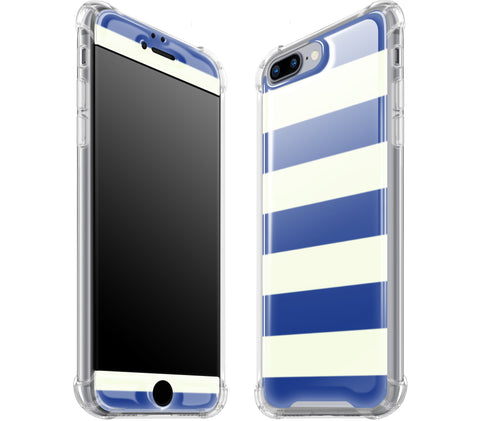 Nautical Striped <br>iPhone 7/8 PLUS - Glow Gel case