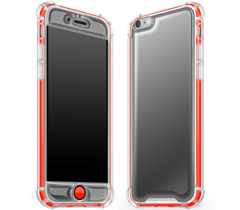 Graphite / Neon Red <br>iPhone 6/6s - Glow Gel case combo