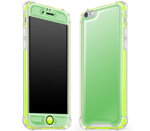 Apple Green / Neon Yellow <br>iPhone 6/6s - Glow Gel case combo