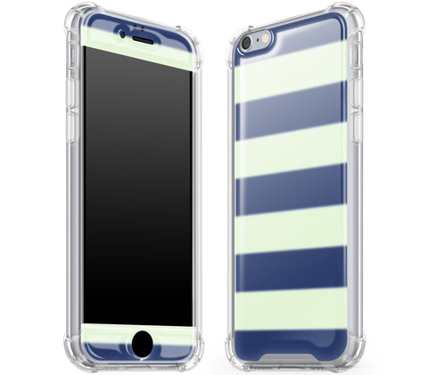 Nautical Striped <br>iPhone 6/6s - Glow Gel case