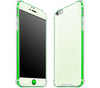 Atomic Ice / Neon Green <br>iPhone 6/6s PLUS - Glow Gel case combo
