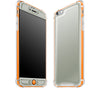 Steel Ash / Neon Orange <br>iPhone 6/6s PLUS - Glow Gel case combo