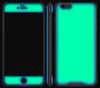 Navy Blue / Neon Yellow <br>iPhone 6/6s PLUS - Glow Gel case combo