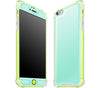 Mint / Neon Yellow <br>iPhone 6/6s PLUS - Glow Gel case combo