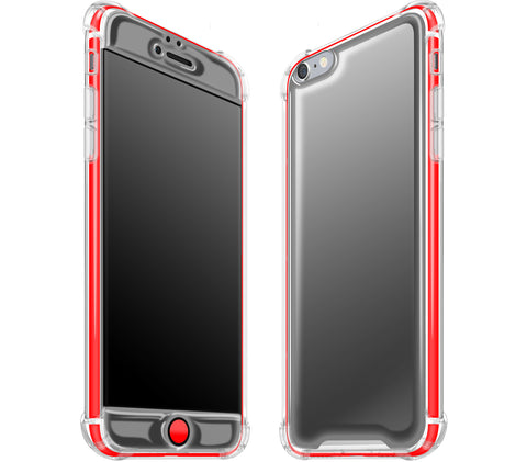 Graphite / Neon Red <br>iPhone 6/6s PLUS - Glow Gel case combo