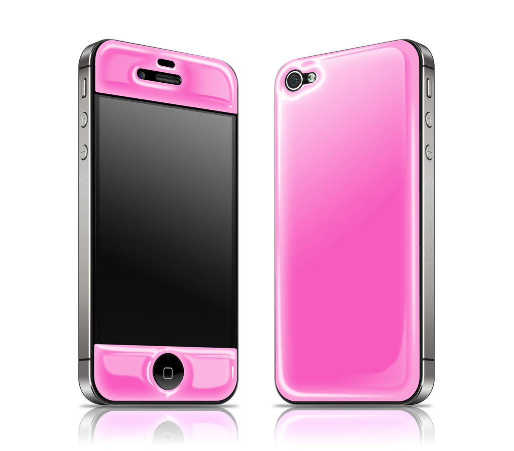 Cotton Candy<br> Glow Gel skin - iPhone 4 / 4s