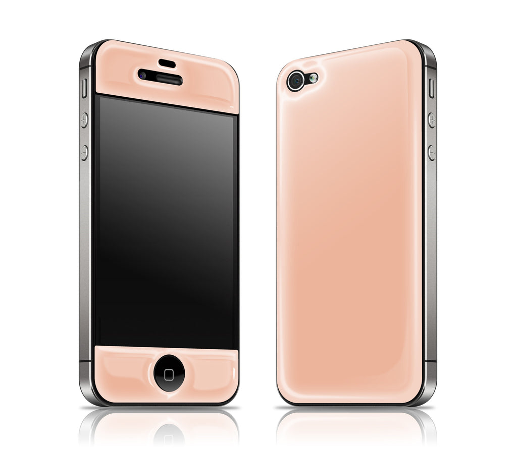Peach<br> Glow Gel skin - iPhone 4 / 4s
