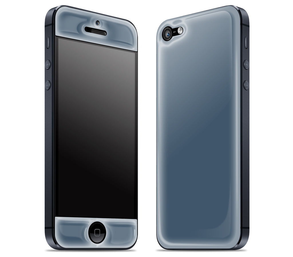 Vintage Navy <br>iPhone 5 - Glow Gel Skin
