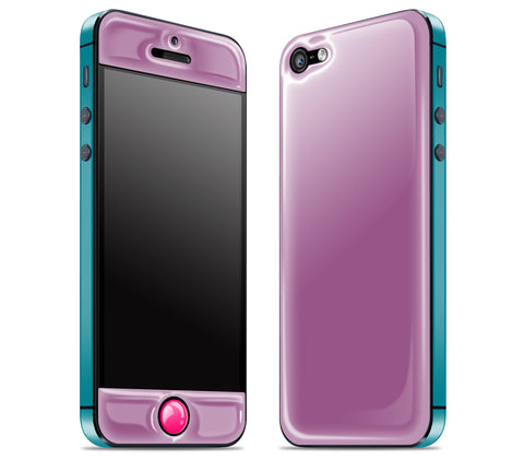 Grape / Teal / Neon Pink <br>iPhone 5 - Glow Gel Combo
