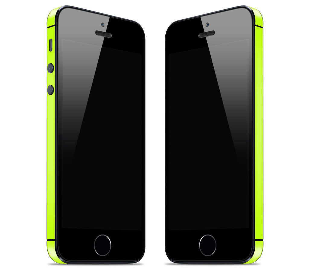 Neon Yellow <br>Bumper Rim Skin - iPhone SE
