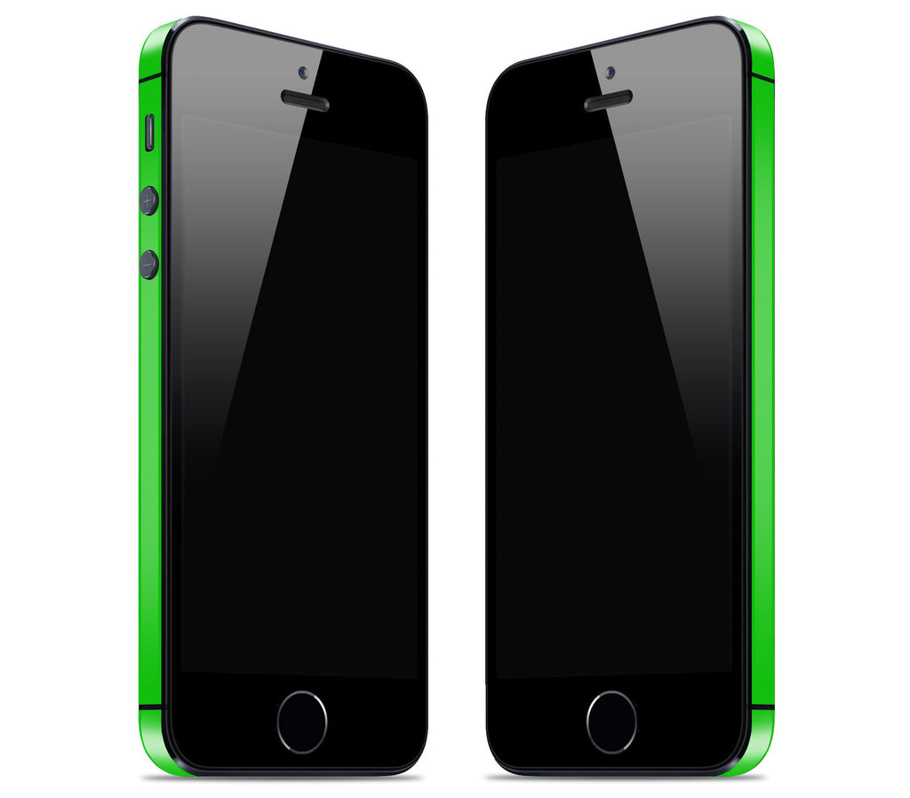 Neon Green <br>Bumper Rim Skin - iPhone SE