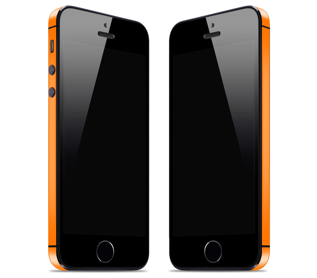 Neon Orange <br>Bumper Rim Skin - iPhone SE