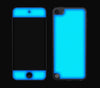 Teal <br>iPod Touch 5th Gen - Glow Gel Skin