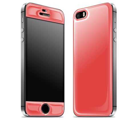 Red <br>iPhone 5s - Glow Gel Skin