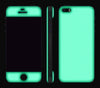 Teal / White <br>iPhone SE - Glow Gel Combo
