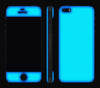 Navy Blue / Neon Yellow <br>iPhone 5s - Glow Gel Combo