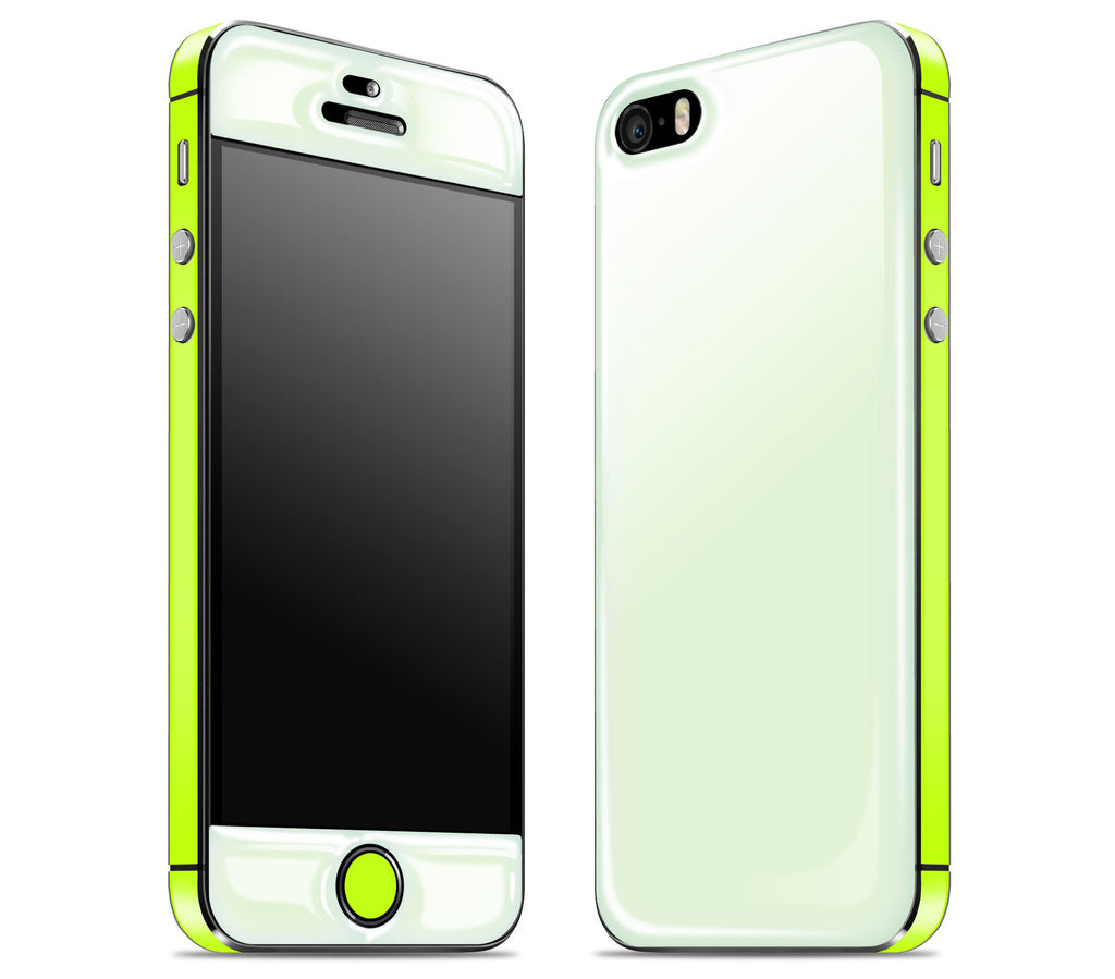 Atomic Ice / Neon Yellow <br>iPhone SE - Glow Gel Combo