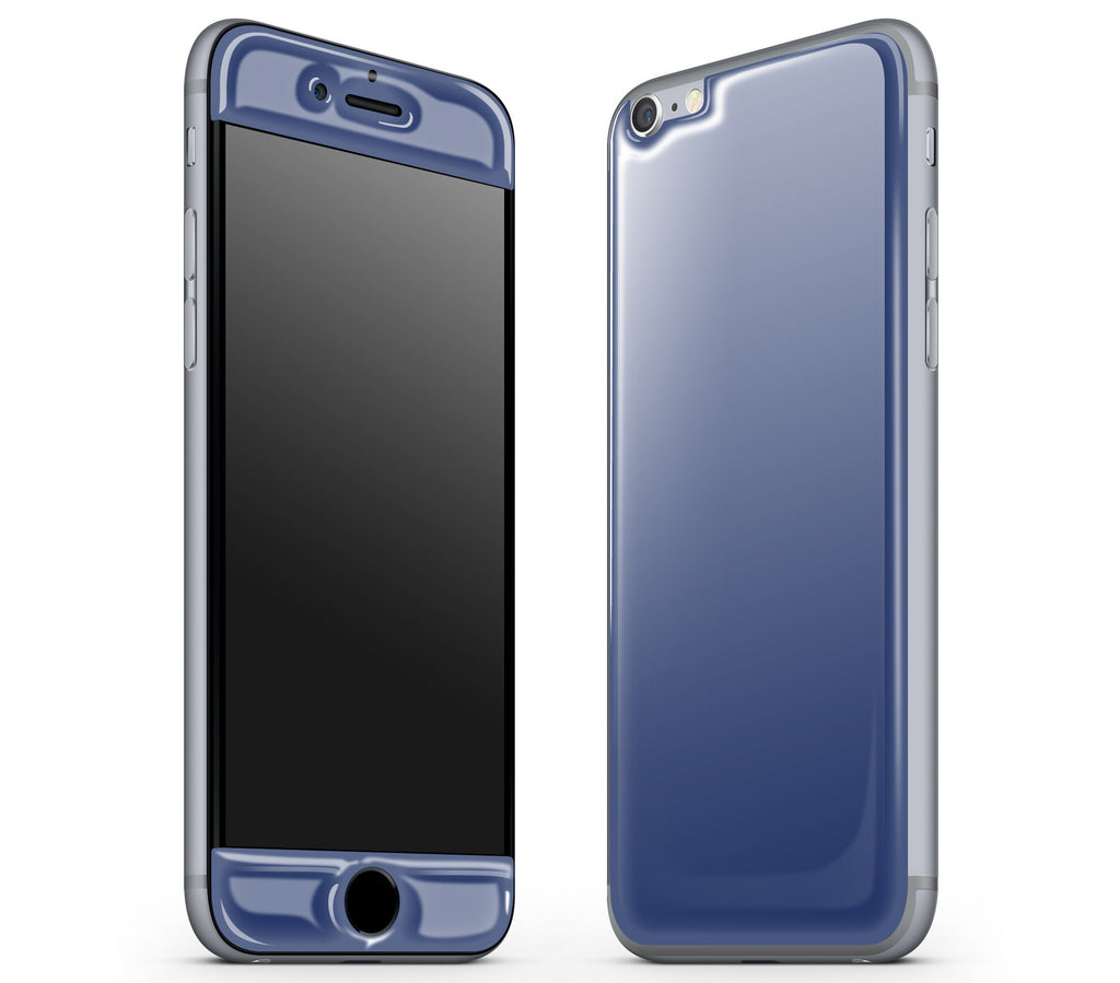 Navy Blue <br>iPhone 6/6s - Glow Gel Skin