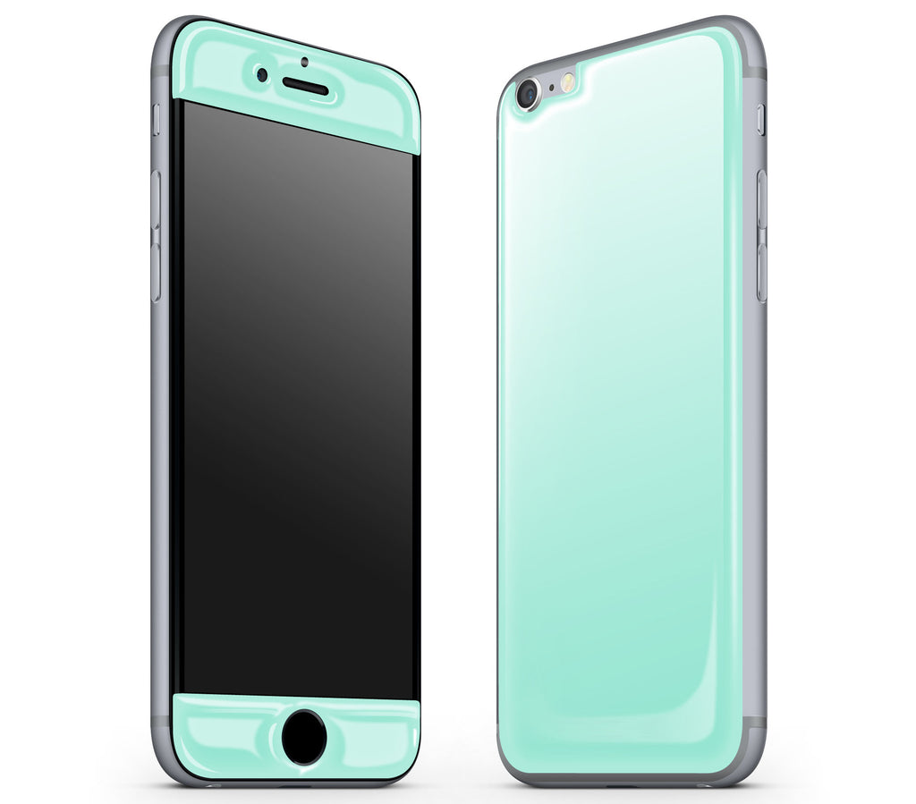 Mint <br>iPhone 6/6s - Glow Gel Skin