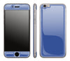 Electric Blue <br>iPhone 6/6s - Glow Gel Skin