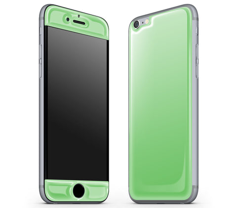 Apple Green <br>iPhone 6/6s - Glow Gel Skin