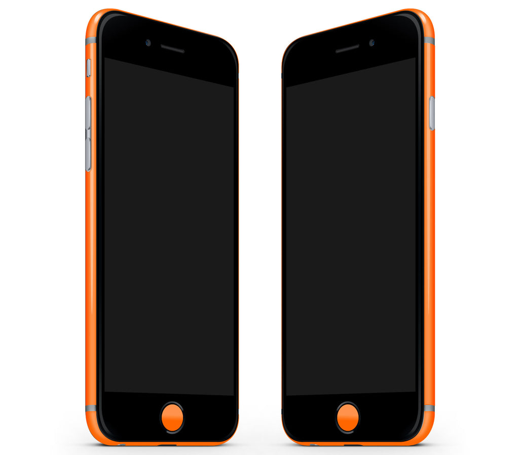 Neon Orange <br>Rim Skin - iPhone 7/8