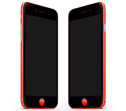 Neon Red <br>Rim Skin - iPhone 7