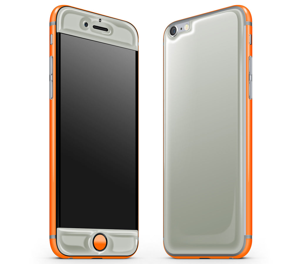 Steel Ash / Neon Orange <br>iPhone 6/6s - Glow Gel Combo