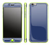 Navy Blue / Neon Yellow <br>iPhone 6/6s - Glow Gel Combo