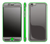 Graphite / Neon Green <br>iPhone 6/6s - Glow Gel Combo