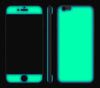 Emerald Green / Neon Pink <br>iPhone 6 - Glow Gel Combo
