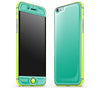 Emerald Green / Neon Yellow <br>iPhone 6/6s - Glow Gel Combo