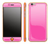 Cotton Candy / Neon Orange <br>iPhone 6/6s - Glow Gel Combo