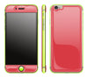 Rebel Red / Neon Yellow <br>iPhone 6/6s - Glow Gel Combo