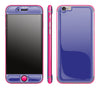 Purple / Neon Pink <br>iPhone 6/6s - Glow Gel Combo