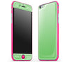 Apple Green / Neon Pink <br>iPhone 6/6s - Glow Gel Combo