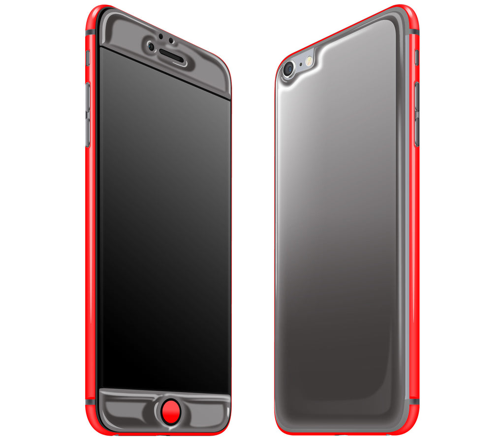 Graphite / Neon Red <br>iPhone 6/6s Plus - Glow Gel Combo