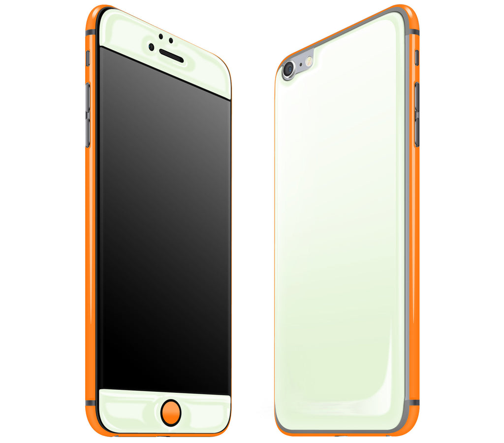 Atomic Ice / Neon Orange <br>iPhone 6/6s Plus - Glow Gel Combo