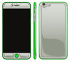 Steel Ash / Neon Green <br>iPhone 6/6s Plus - Glow Gel Combo