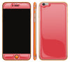 Rebel Red / Neon Orange <br>iPhone 6/6s Plus - Glow Gel Combo