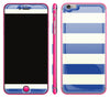 Nautical Striped / Neon Pink <br>iPhone 6/6s Plus - Glow Gel Combo